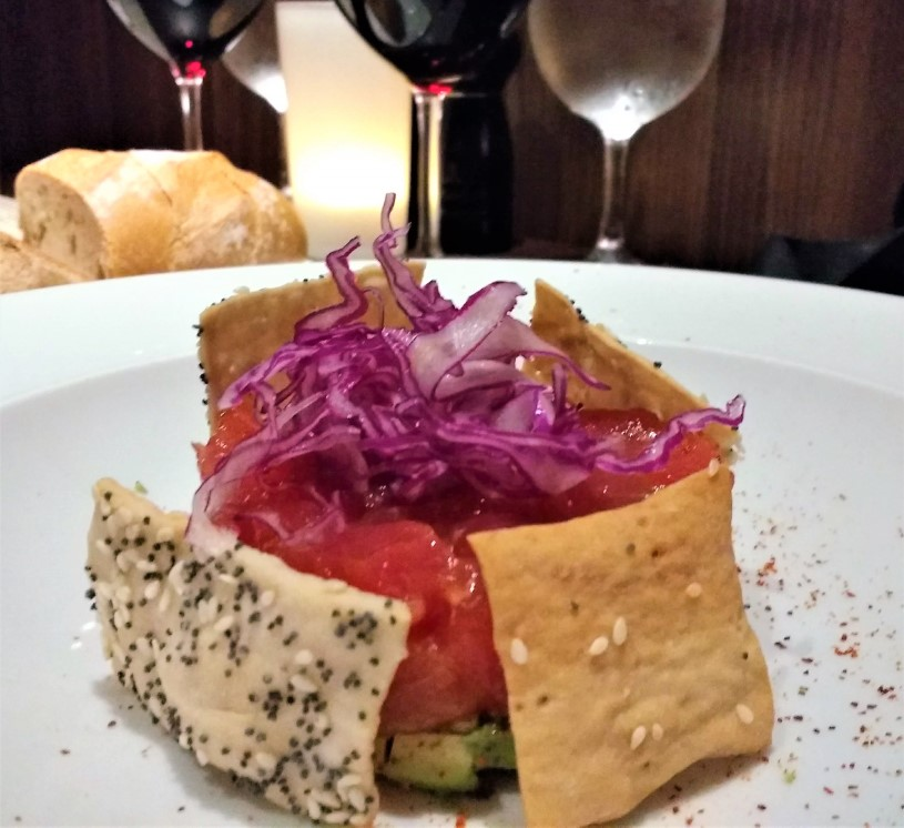 Chops Grille - Tuna Tartare Appetizer