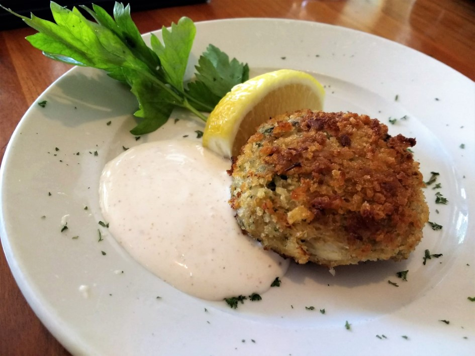 Crab Cake at Galyn's