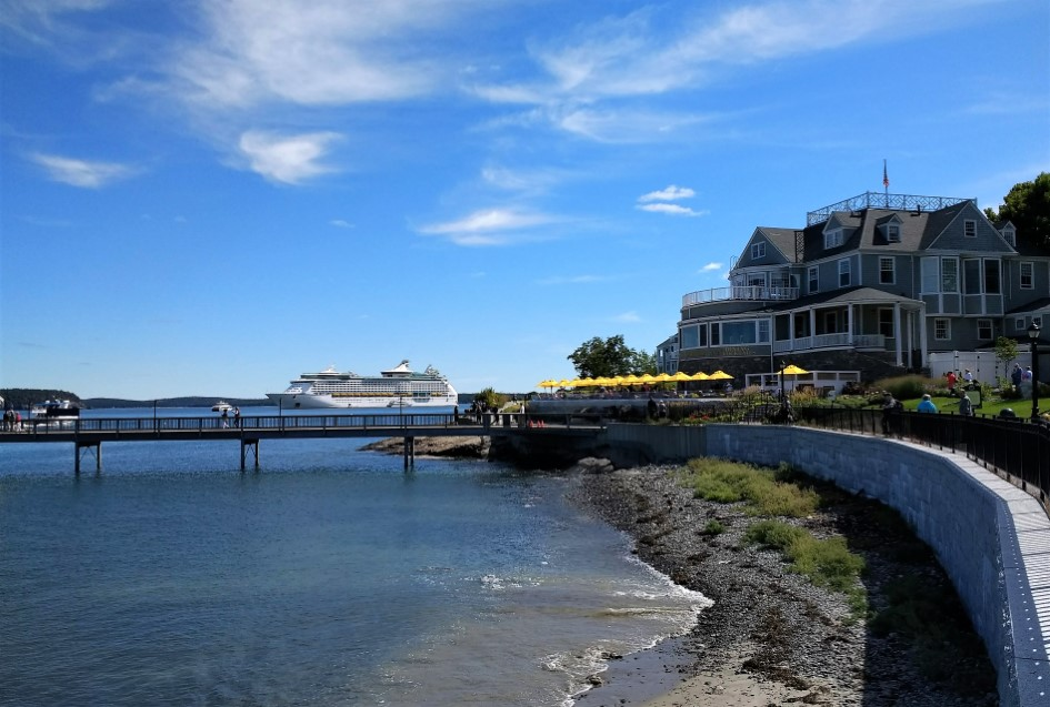 Adventure of the Seas at Bar Harbor, Maine
