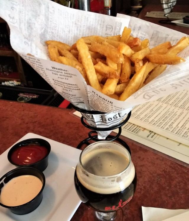 Blaze - Duck fat fries and craft beer