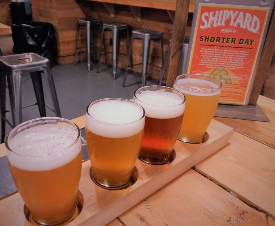 Shipyard Brewing in Portland, Maine