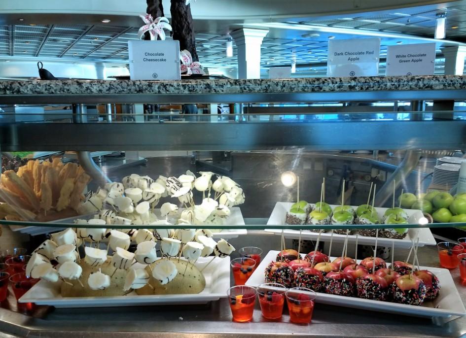 Windjammer Café - Desserts Galore!