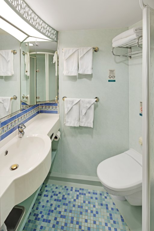 Adventure of the Seas Bathroom