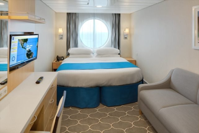 Adventure of the Seas Ocean View Stateroom