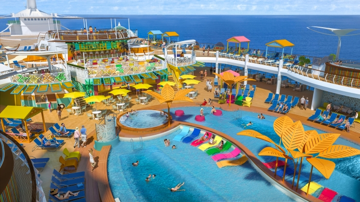 Navigator of the Seas Reimagined Poolscape