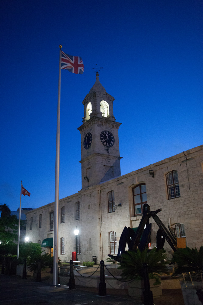 Bermuda Royal Dockyard at Night