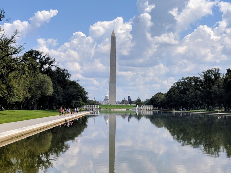 Washington Monument & Lincoln Memorial Reflecting Pool