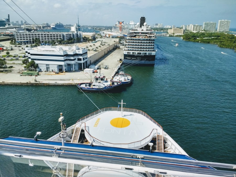 Celebrity Silhouette in Port Everglades