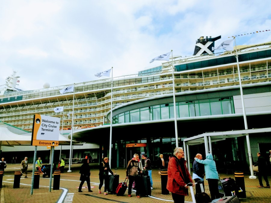 Celebrity Silhouette in Southampton