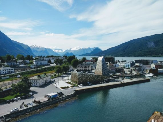 Visiting Andalsnes, Norway with Costa Mediterranea
