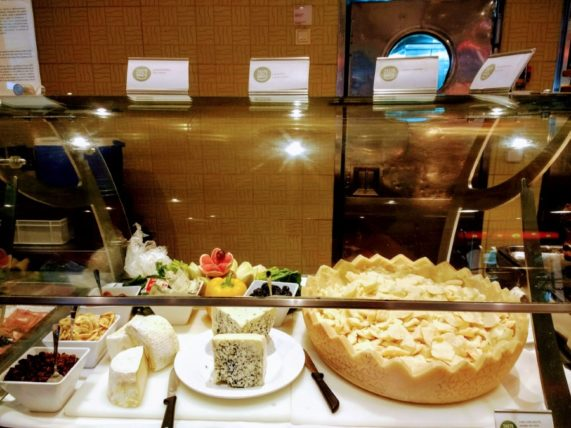 Buffet Cheese Selection
