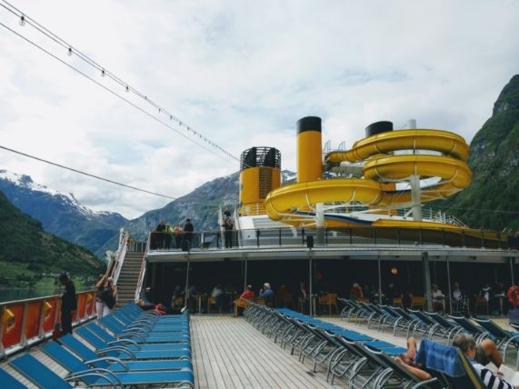 Costa Mediterranea Waterslide