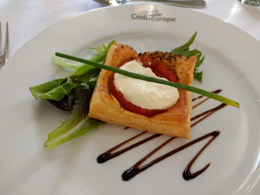 Starter - Goat Cheese Puff Pastry